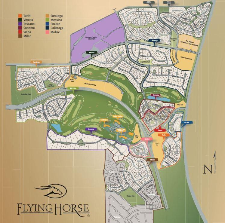 Flyin gHorse Map